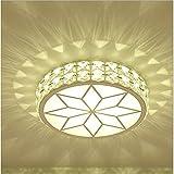 Nclon Deckenleuchte Kristall,Deckenlampe Led Fluoreszierend Kreativ Flurlampe Wohnzimmer Korridor Schlafzimmer-A 21cm(8inch)