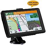 Sat Nav GPS Navigation System, 7 Inch HD Touch Screen 8 G 256