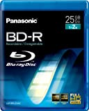 Panasonic LM-BEU25AE 25GB Rewritable Blu-ray Media 1-2xSpeed Video Box