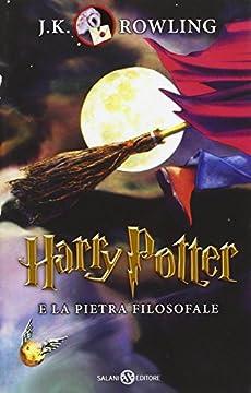 Cover Harry Potter e la pietra filosofale [Quarta ristampa]: 1