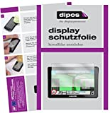 dipos I 3X Schutzfolie klar passend für Snooper Truckmate S8000 Folie Displayschutzfolie