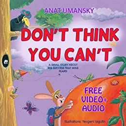Children's Books: Don't Think You Can't; (audio book