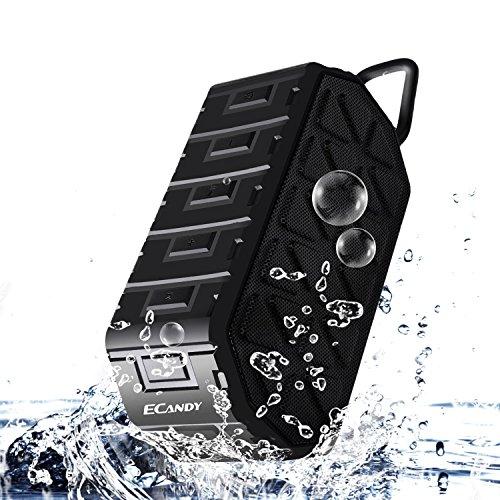 Ecandy-Altavoz-Porttil-Bluetooth-IPX6-impermeable-3W-2-Manos-libres-estreo-Anti-polvo-anti-cada-al-aire-libre-pensamiento-altavoz-inalmbrico-construido-en-1000-mAh-de-la-batera-recargable-negro