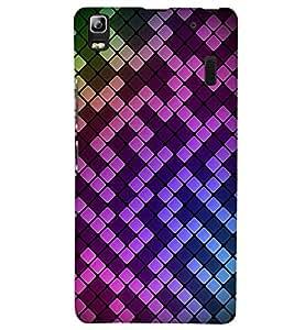 printtech 3D Pattern Back Case Cover for Lenovo K3 Note
