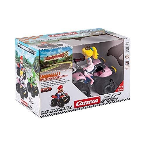Carrera 370200999 - RC Nintendo Mario Kart 8 Peach Quad, Ferngesteuertes Auto