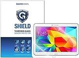 G-Shield Displayschutzfolie für Samsung Galaxy Tab 4 (10.1 Zoll) Tablet Gehärtetem Glas Schutzfolie Screen Protector Folie Displayschutz Anti-Kratz Ultra Klar 9H Härte