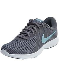 size 40 6518d 22a02 Nike Damen Revolution 4 Breite Laufschuh, (GunsmokeOcean BlissDark Grey)