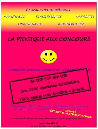 La physique aux concours (Concours paramédicaux)
