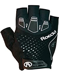 Roeckl indal bicicleta guantes corto negro 2017, continuidad, color negro, tamaño 9.5