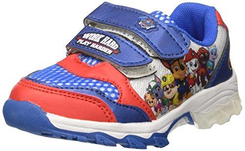 Paw Patrol Jungen Running Light Niedrige Sneaker, Blu (Royal), 27 EU