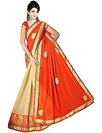 Karishma Women's Marble Saree,K008_Multicoloured_Freesize