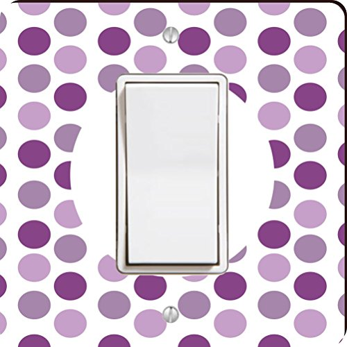 s Greatest Tante lila Polka Dot Single Wippe Licht Teller ()