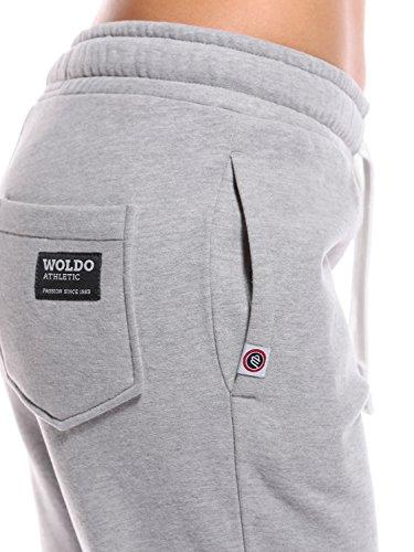 WOLDO Athletic - Pantalon de sport - Femme Clark grau/koralle