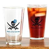 CafePress–Piraten der Cuba Libre Pint-Glas, Pint-Glas, 16oz Trinkglas farblos