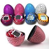 Edited Crack Egg Tumbler Toys Virtual Digital Console elettronica per giochi elettronici per portachiavi