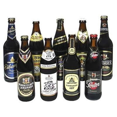 Schwarzbier Bierset (9 Flaschen / 5,2 % vol.)