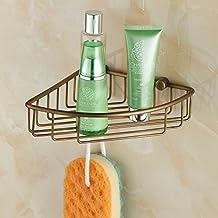 WL-zwsPlataforma de baño _ fabricantes venta cobre antiguo cuarto de baño Triangulo estante europeo único soporte,Ver descripcion