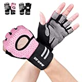 Gym Gloves, SLB Training Gloves with Full Wrist Support, Palm Protection and Extra