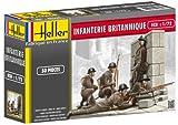 Heller - 49604 - Figurine - Infanterie Britannique