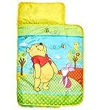 Winnie the Pooh 412WIE Bequemer Wickel-Schlafsack, Plastik, gelb, 110 x 72 x 8 cm