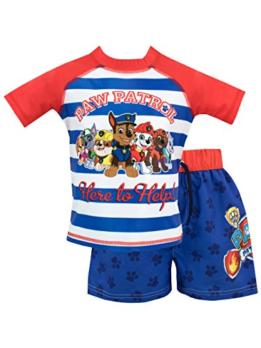 Paw Patrol Boys Chase Marshall & Group Swim Set Ages 12 Months To 7 Years