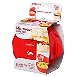 Sistema Microwave Easy Eggs Eierkocher, 270 ml, rot