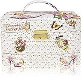 AVENUE Cinderalla Sandal1 Makeup, Jewellery, Multi Purpose Vanity Box Jewellery Box Vanity Box (Multicolor)