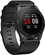 totobay Smartwatch Orologio Fitness Uomo Donna Activity Tracker Touch Screen Cardiofrequenzimetro Pedometri Impermeabile IP6