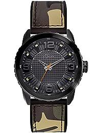 s.Oliver Herren-Armbanduhr XL Analog Quarz Kautschuk SO-3040-PQ