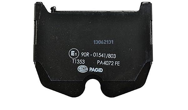 Scheibenbremse HELLA PAGID 8DB 355 010-331 Bremsbelagsatz Vorderachse