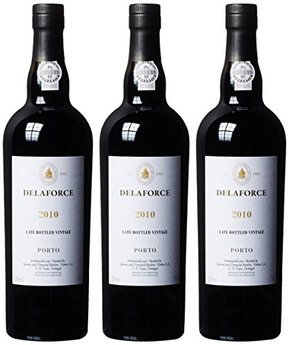 Delaforce Late Bottled Vintage Port, 2010 (3 x 0.75 l)
