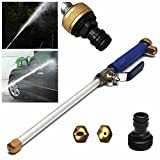 Kingko® Home Garden Water Jet High Pressure Power Washer Spray Nozzle Watering Gun Garden Hose Pipe Wand Attachment Best Choice Cleaning Tools
