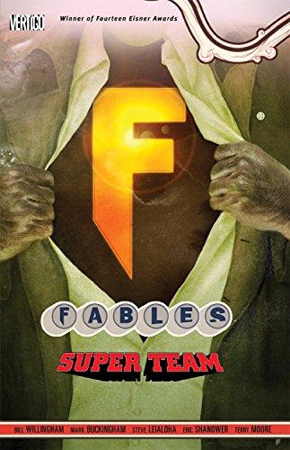Fables TP Vol 16 Super Team por Bill Willingham