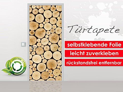 turtapete-wood-stump-im-format-90x210cm-selbstklebende-premium-folie-leicht-zu-verkleben-ohne-blasen