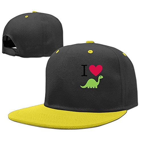 b25f59c3aa2 ferfgrg Heart Dinosaur Youth Hip Hop Hats Boys and Girl Baseball Trucker Cap  HI380