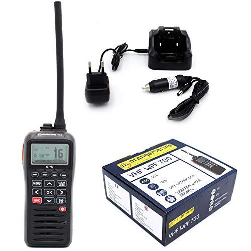 VHF Tragbar ASN WPF 700, wasserdicht und schwimmend, Orange Schwimmendes Vhf Radio