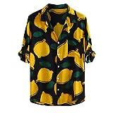 R-Cors Herren Hawaiihemd Kurzarm Blumen beiläufige Hemden Aloha Hemd für Strand Party Feiertag   Herbst Winter Casual Umlegekragen Button Top Bluse