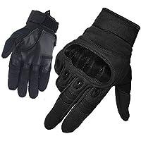 HASAGEI Large Black Gloves FreeMaster-Guantes de Trabajo para Hombre con Pantalla táctil, Negro