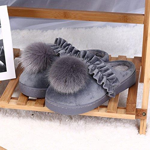 Chaussons Pour Pantoufles Chaud Coton Vente Enfants Coton En Antidérapant Gray Coton Chaussures De Gray En En Dentelle Pantoufles Gros Chaussures Accueil pIFwFtq8