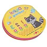 Poualss Poualss Badebücher Lernspielzeug Luftblasen Buch Wasserdichtes Tuch Buch für Baby Kinder Kleinkinder Badezeit (Ziffern)
