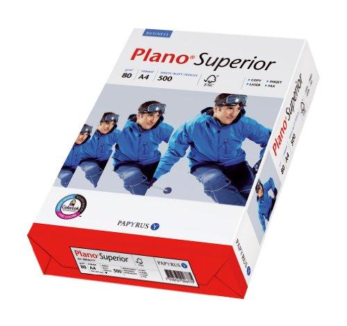 Papyrus 88026777 Multifunktionspapier PlanoSuperior 80 g/m², A4 500 Blatt weiß