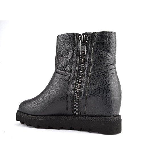 Ash Chaussures Yang Bottines Noir Femme Noir