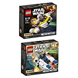 Lego Star Wars 2er Set 75160 75162 U-Wing Microfighter + Krennic's Imperial Shuttle Microfighter