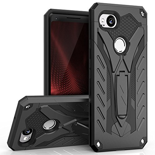 Zizo Static Series Google Pixel 2 Case with Kickstand, Shockproof and Military Grade Norme