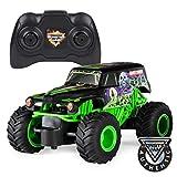 Monster Jam 1:24 RC - Gravedigger Monster truck Motor eléctrico - Vehículos de tierra por radio control (RC) (Monster truck, Motor eléctrico, 1:24, Ready-To-Drive (RTD), Verde, De plástico)