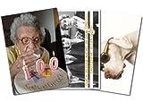 3er-Set: Postkarten A6 +++ MIX SET Nr. 2 von modern times +++ 3 lustige GEBURTSTAGS-Motive +++