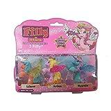 Lively Moments 3 Filly Stars Pferdchen mit Swarovskistein / Pferd / Einhorn / Spielzeug / Spielfiguren Libra, Aries & Hypnia
