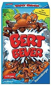 Ravensburger Bert Bever Niños Juego de Habilidades motrices Finas - Juego de Tablero (Juego de Habilidades motrices Finas, Niños, 15 min, Niño/niña, 4 año(s), Multicolor)