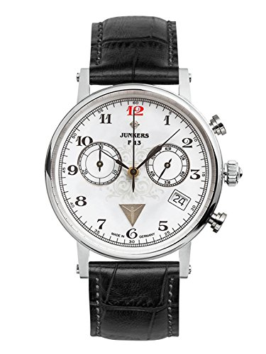 Junkers Women's Quartz Watch with Chronograph Quartz Leather 65871