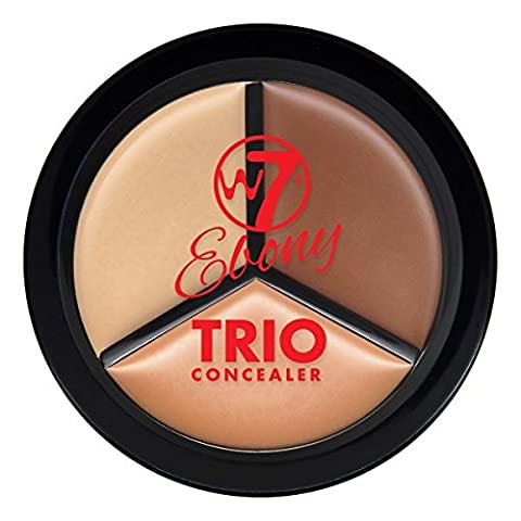 W7 Ebony Trio Concealer Pot